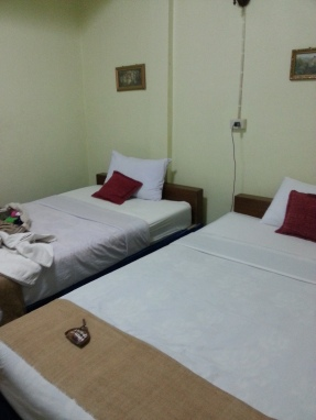 Our room at Rim Nam House