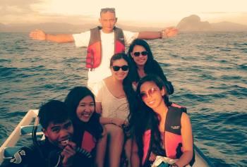 Pangulasian Island crew