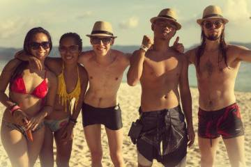 Labor Day Boracay with D2 and John