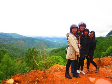 In Da Lat, Vietnam with the crew